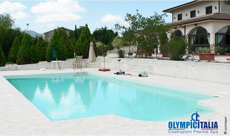 Progettazione costruzione piscina ristorante hotel il noce antico chiusa sclafani palermo - Piscina chiusa sclafani ...