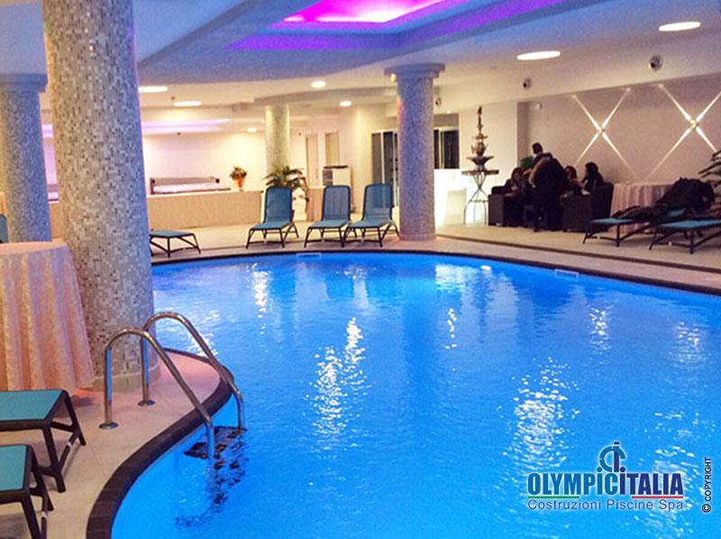 Costruzione piscina e centro benessere luxury hotel for Villaggio palumbo