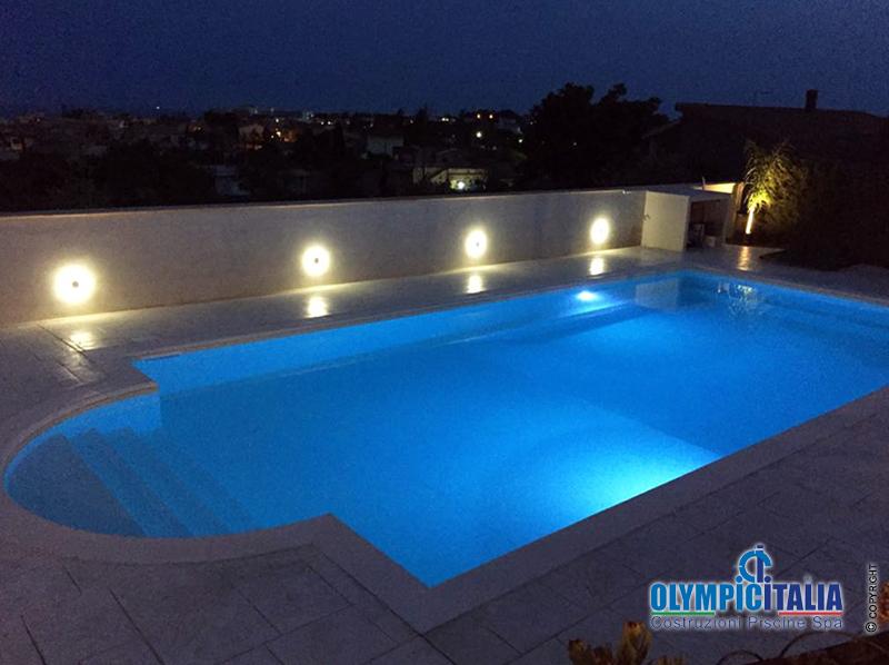 Progettazione costruzione piscina per casa vacanza beb - Piscine per casa ...