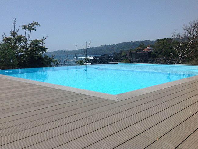 Costruzione Vendita Piscine Catania - Costruzione piscina Bordo Sfioro Infinity - Sicilia