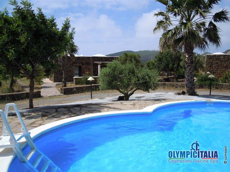 Realizzazione costruzione piscina pubblica per Residence Pantelleria - Olympic Italia ...