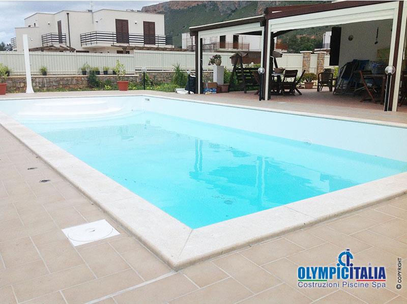 costruzione piscina in pannelli prefabbricati terrasini palermo offerte costr...