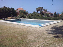 Rivestimento liner per piscina a Messina
