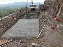 Fasi realizzazione costruzione piscina